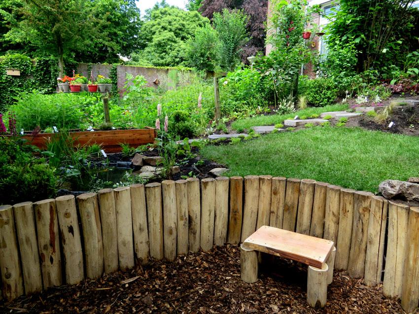 Natuurlijke tuin ontwerpen